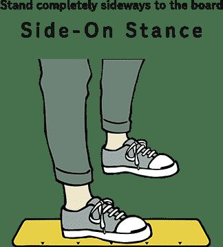 Side On Darts Stance